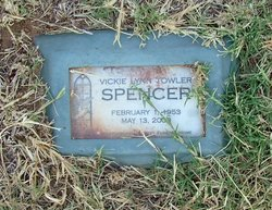 Vickie Lynn <i>Towler</i> Spencer
