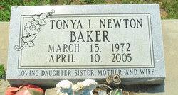 Tonya L <i>Newton</i> Baker