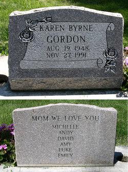 Karen Vick <i>Byrne</i> Gordon