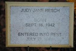 Judy Jane <i>Sanders</i> Resch