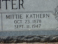 Mittie Kathern Canter