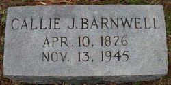 Callie Jordan <i>Thaxton</i> Barnwell