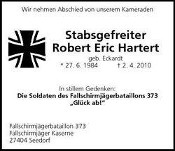 Corp Robert Eric Hartert