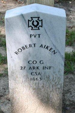 Pvt Robert Aiken
