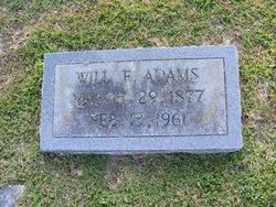 Will F. Adams