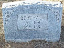 Bertha L. Allen