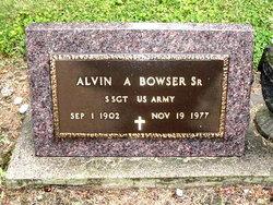 Alvin A Bowser