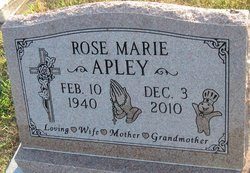 Rose Marie <i>Carpenter</i> Apley