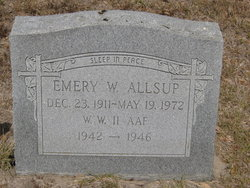 Emery Walter Allsup