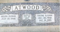 Fred Eugene Fredie Atwood