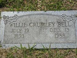 Willie <i>Crumley</i> Bell