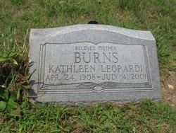 Kathleen <i>Blake</i> Burns