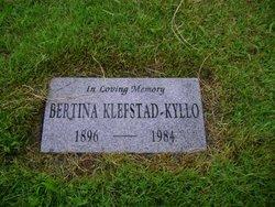 Bertina H. <i>Eliason</i> Klefstad-Kyllo