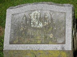 A. Gertrude <i>Hackett</i> Ashley