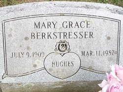 Mary Grace <i>Hughes</i> Berkstresser
