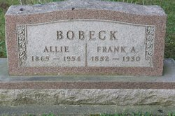Allie <i>Wharton</i> Bobeck