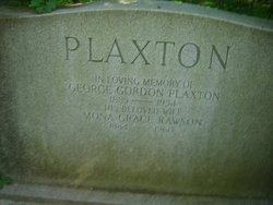 George Gordon Plaxton
