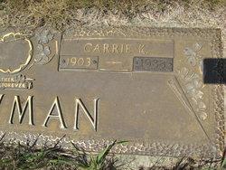 Carrie Kathryn <i>Warner</i> Bowman