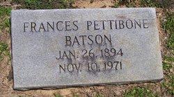 Frances <i>Pettibone</i> Batson