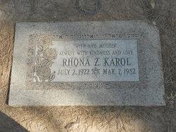 Rhona Z. Karol