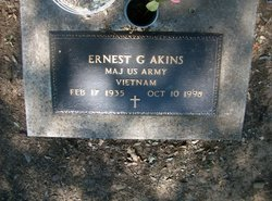 Ernest G Akins
