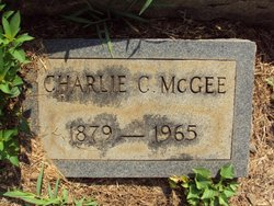 Charlie Clarence McGee