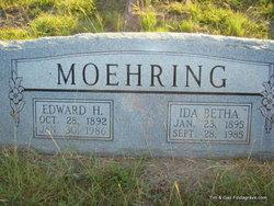 Ida Bertha <i>Leinweber</i> Moehring