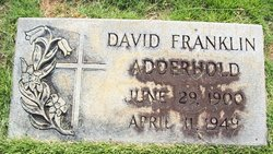 David Franklin Adderhold