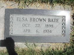 Elsa Ann <i>Brown</i> Bate