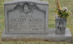 Maxine <i>Jacoby</i> Asher