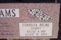 Cordelia <i>Helms</i> Adams