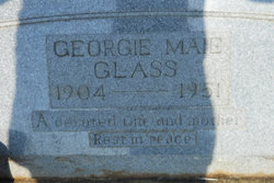 Georgie Maie Glass