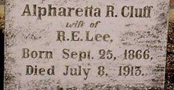 Alpharetta Rebecca <i>Cluff</i> Lee