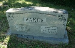 Effie <i>Norman</i> Baker