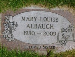Mary Louise <i>Forbes</i> Albaugh