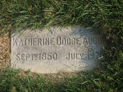 Catherine <i>Dodge</i> Augur