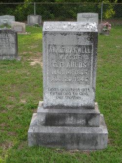 Cynthia Anne (Annie) <i>Bagwell</i> Aulds