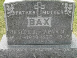 Joseph H Bax