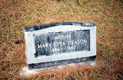 Marietta Wayne Etta <i>Yeager</i> Deason