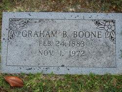 Graham Baxter Boone, Sr