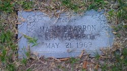 Marie Elizabeth <i>Logan</i> Barron