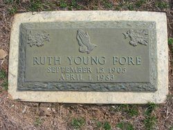 Ruth Estell <i>Young</i> Fore