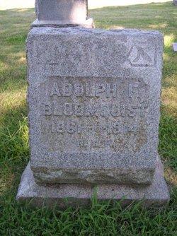 Adolph F Bloomquist
