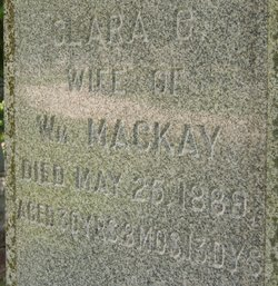 Clara C. <i>Shirk</i> Mackay