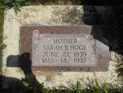 Sarah Cecelia <i>Beck</i> Hoge