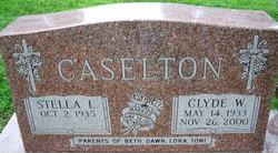 Rev Clyde Wallace Caselton
