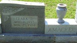 Clara T. Amacker