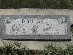 Sarah Ann <i>Hymas</i> Poulsen