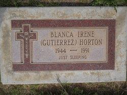 Blanca Irene <i>Gutierrez</i> Horton