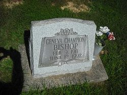 Geneva <i>Champion</i> Bishop